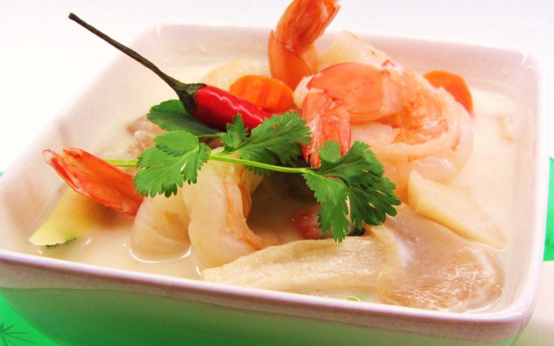 soupe repas aux crevettes laniel st laurent. Black Bedroom Furniture Sets. Home Design Ideas