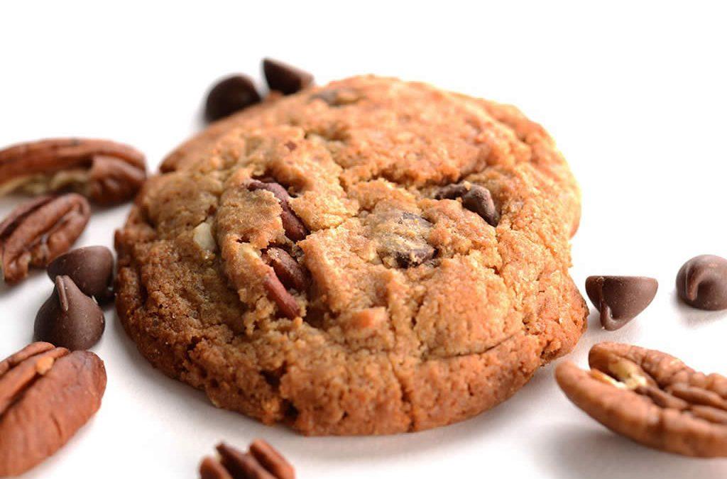 Biscuits santé moelleux au chocolat et pacane